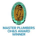 master plumbers award winner